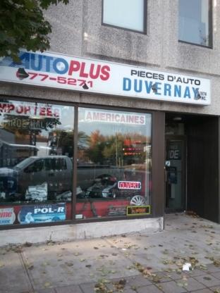 Pièces D'Auto Duvernay - Accessoires et pièces d'autos neuves - 450-677-5271
