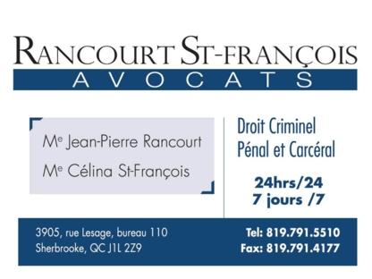 Rancourt St-Francois Avocats - Avocats en infractions routières - 819-791-5510