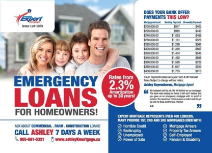 Expert Mortgage - Ashley Kuyvenhoven - 905-691-5321