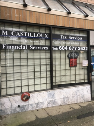 M Castilloux Tax Services - Tax Consultants - 604-708-3567