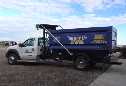 Thumbs Up Services - Residential Garbage Collection - 403-340-8860