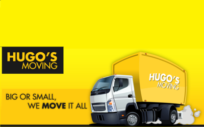 Hugo's Moving - Déménagement et entreposage - 778-475-1763