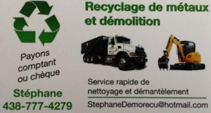 Recyclage de métaux et démolition SC - Scrap Metals