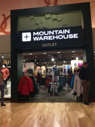 Mountain Warehouse Outdoor (Canada) Ltd - Sportswear Stores