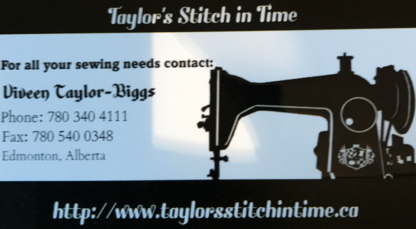 Taylor's Stitch in Time - Clothing Alterations