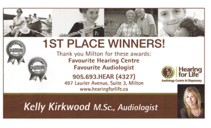 Hearing For Life Audiology Centre & Hearing AidDispensary - Hearing Aids