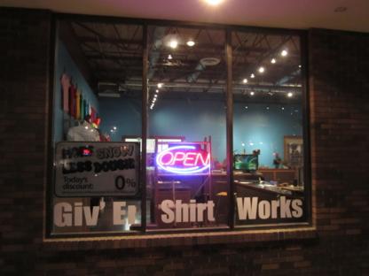 Giv' Er Shirt Works - Promotional Products
