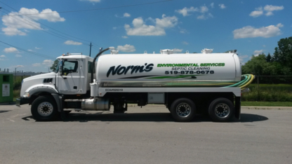 Norm's Environmental Services - Septic Tank Cleaning - 519-878-0678