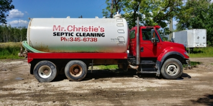 Mr Christie's Septic Cleaning 2016 - Septic Tank Installation & Repair - 204-345-6738