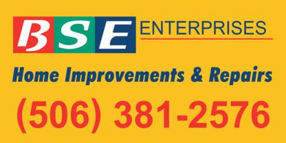 BSE Enterprises - Rénovations - 506-381-2576