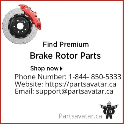 PARTS AVATAR INVESTMENTS INC. - 1-844-850-5333