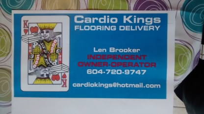 Cardio Kings Flooring Delivery - Delivery Service