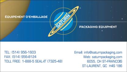 View Emballage Saturn Machinerie's Mercier profile