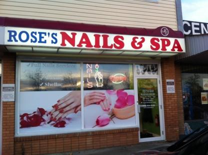 Rose's Nail & Spa - Beauty & Health Spas - 403-454-9238