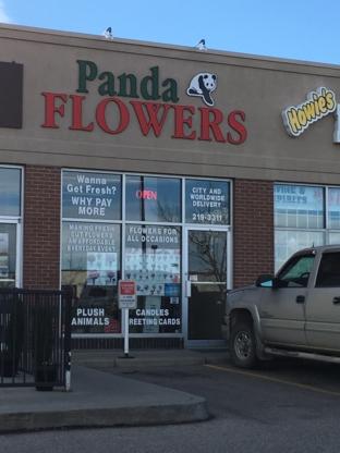 Panda Flowers - Fleuristes et magasins de fleurs - 403-219-3311