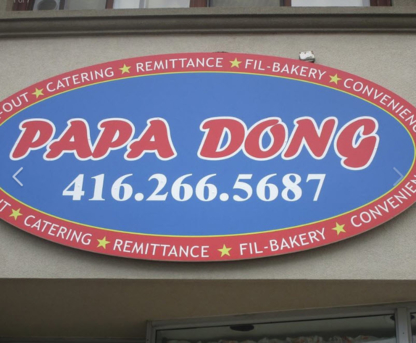 View Papa Dong Bakery & Take Out's Scarborough profile