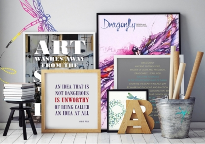Dragonfly Design and Production - Graphic Designers