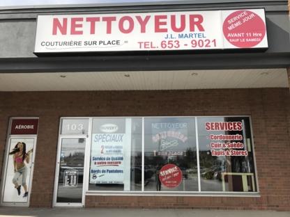 Nettoyeur J L Martel - Dry Cleaners - 450-653-9021