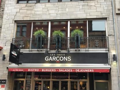 Les Trois Garçons - Restaurants américains - 418-692-3900