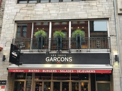 Les Trois Garçons - American Restaurants