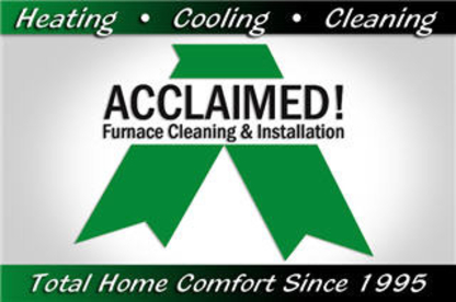 Acclaimed Furnace Cleaning & Services - Air Conditioning Contractors - 780-413-1655