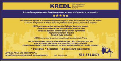 Kredl Inc - Roofers