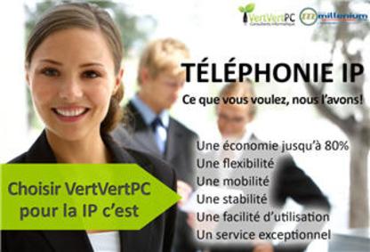 VertVertPC Consultants Informatique Inc - Boutiques informatiques - 819-917-2001