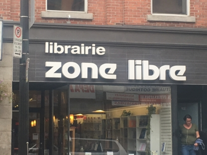 Zone Libre - Book Stores - 514-844-0756