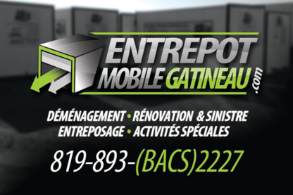 Entrepôt Mobile Gatineau - Self-Storage - 819-893-2227