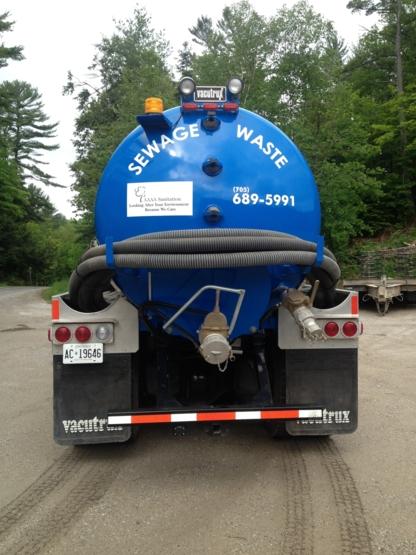 AAAA Sanitation - Pump Repair & Installation - 705-327-3652