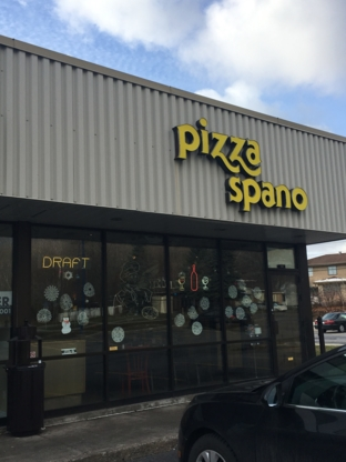 Pizza Spanos - Restaurants - 514-683-6369