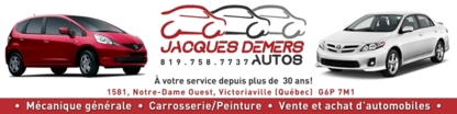 Demers Jacques Autos Inc - Garages de réparation d'auto - 819-758-7737