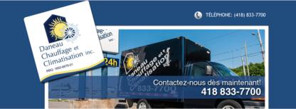 Daneau Chauffage & Climatisation Inc - Entrepreneurs en ventilation - 418-833-7700