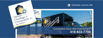 Daneau Chauffage & Climatisation Inc - Ventilation Contractors - 418-833-7700
