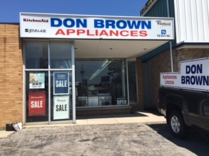View Don Brown Appliances Ltd.'s London profile