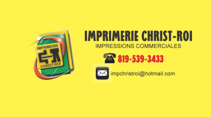 Imprimerie Christ-Roi 2016 - Imprimeurs - 819-539-3433