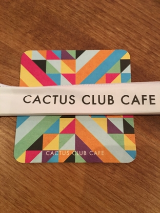 Cactus Club Cafe - Restaurants - 604-777-0440