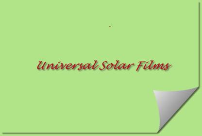 Universal Solar Films - Window Tinting & Coating