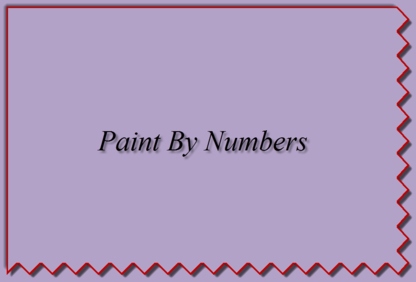 Paint By Numbers - Récupération - 204-590-5020