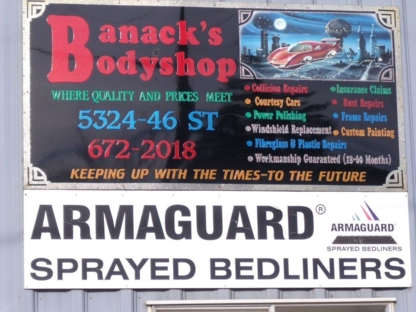 Banack's Bodyshop - Auto Body Repair & Painting Shops - 780-672-2018