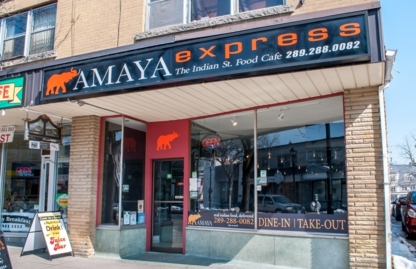 Amaya Express - Burlington - Indian Restaurants - 289-288-0082