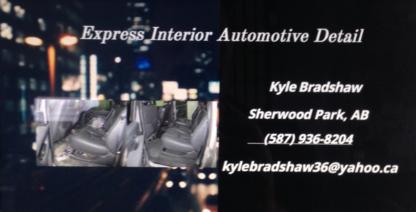 Express Interior Automotive Detail - Car Detailing - 587-936-8204