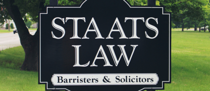Staats Mark D - Family Lawyers - 519-756-5217