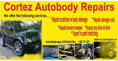 Cortez Autobody Repair Inc - Auto Body Repair & Painting Shops - 306-249-2290