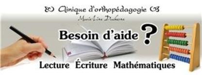 Clinique d'orthopédagogie Marie-Line Duchesne - Orthopédagogues - 418-512-1671