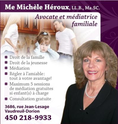 Me Michèle Héroux Avocate & Médiatrice - Family Lawyers