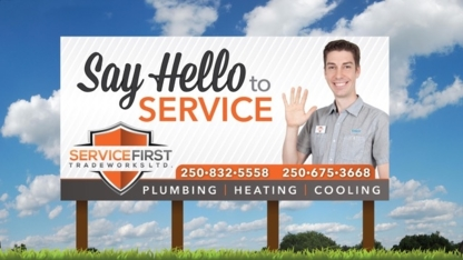 Service First Tradeworks Ltd - Air Conditioning Contractors - 250-832-5558
