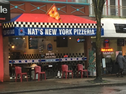 Nat's New York Pizzaria - Pizza et pizzérias - 604-642-0777