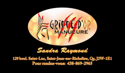 Griffe D'or Manucure - Hairdressers & Beauty Salons - 438-869-2965