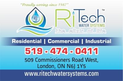 RiTech Water Systems - Bulk & Bottled Water - 519-474-0411